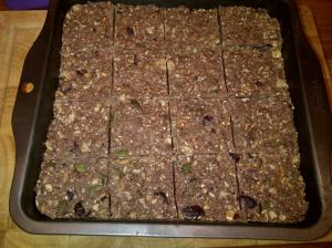 Choc-cranberry bars 2