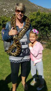 Nicky and snake